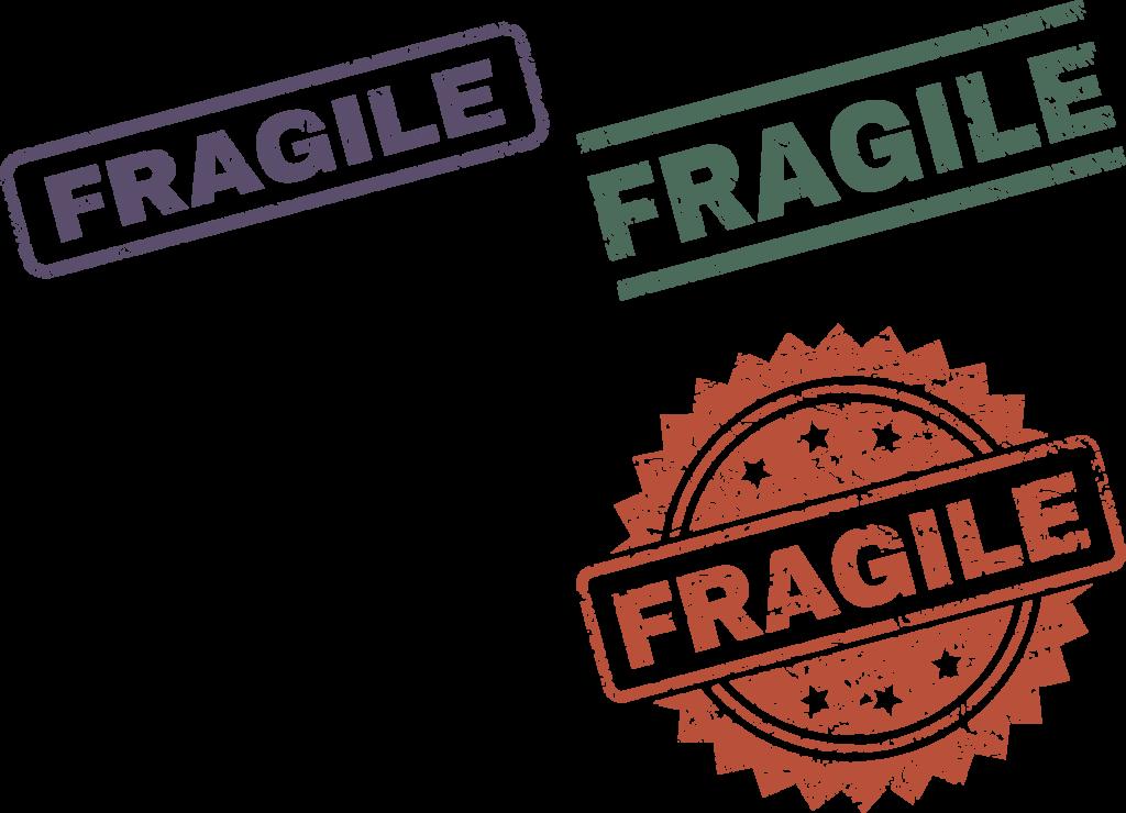 Careful fragile