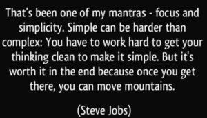 Complexity vs Simplicity