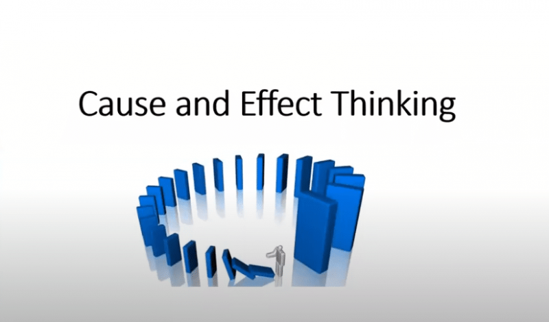 cause and effect thinking